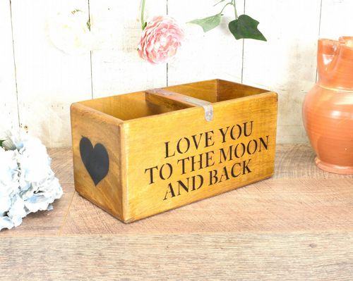 Medium Vintage Box Love You To The Moon